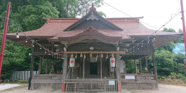大原八幡神社へ参拝