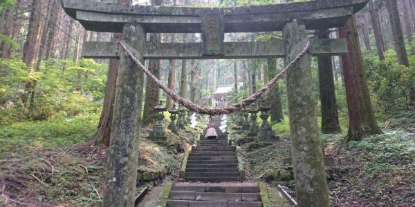 1年振り★上色見熊野座神社