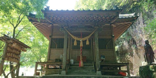八女津媛神社へ参拝