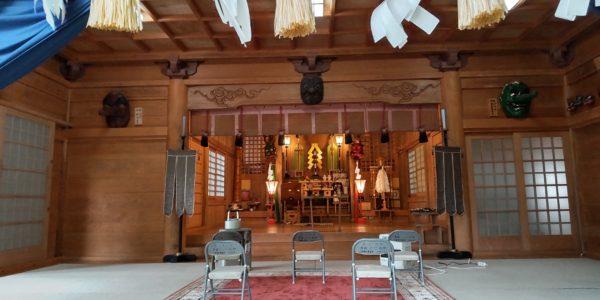 高住神社の月次祭