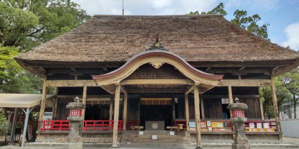 青井阿蘇神社へ参拝♪
