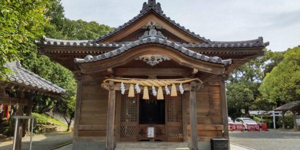 1年振り♪名島神社